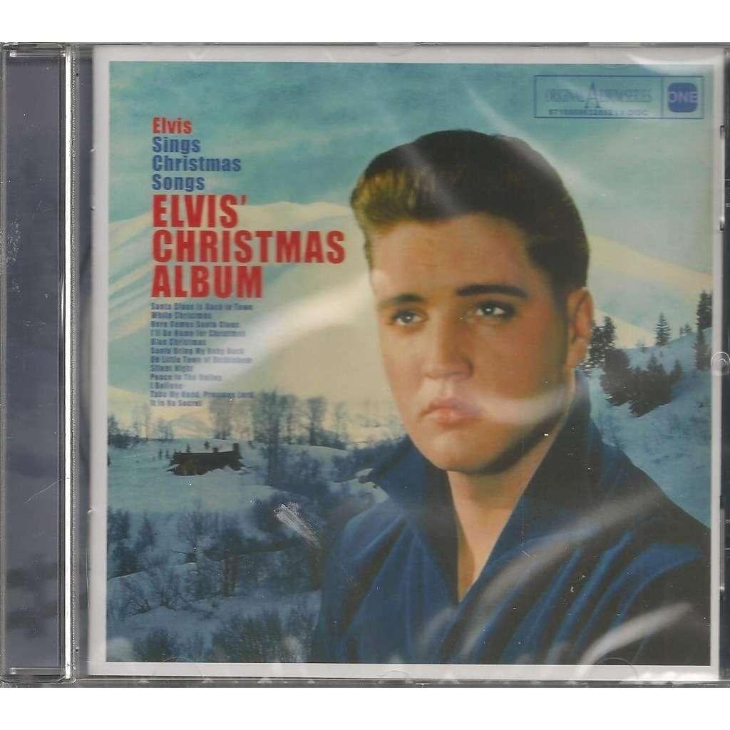 Elvis Christmas Album.Elvis Presley Christmas Album Cd Elvis One Serie 38 Masters Outtakes