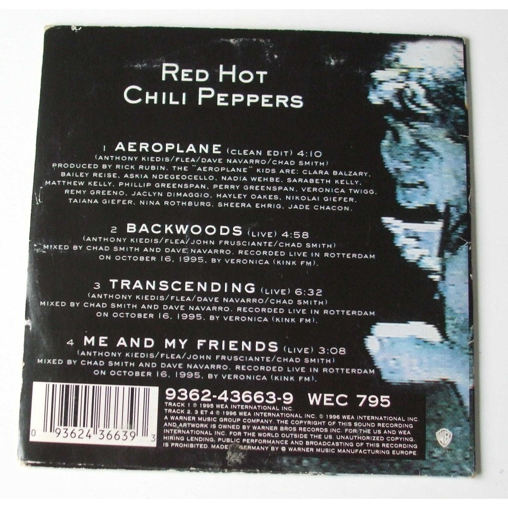 Red Hot Chili Peppers Aeroplane