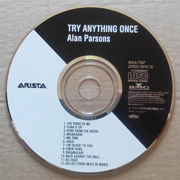 Alan Parsons Try Anything Once