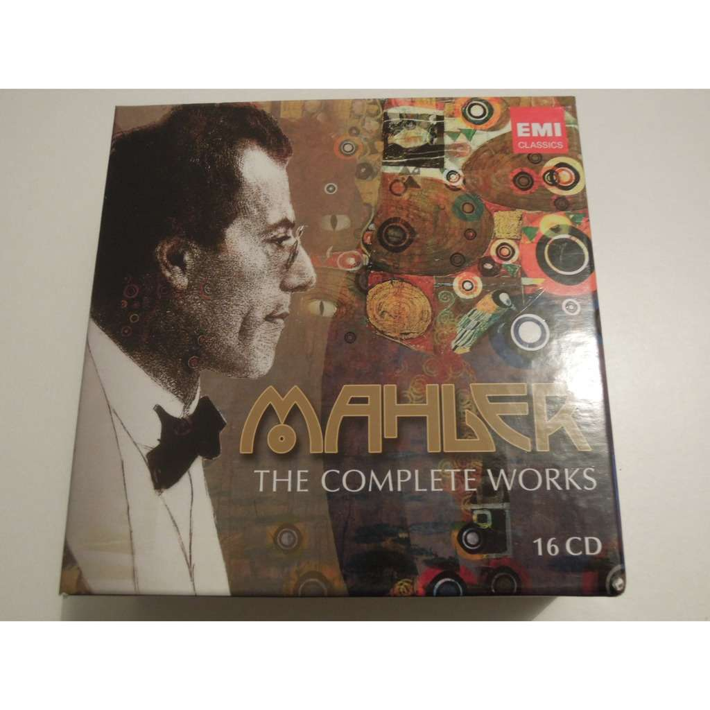 gustav mahler 150th anniversary edition - the complete works