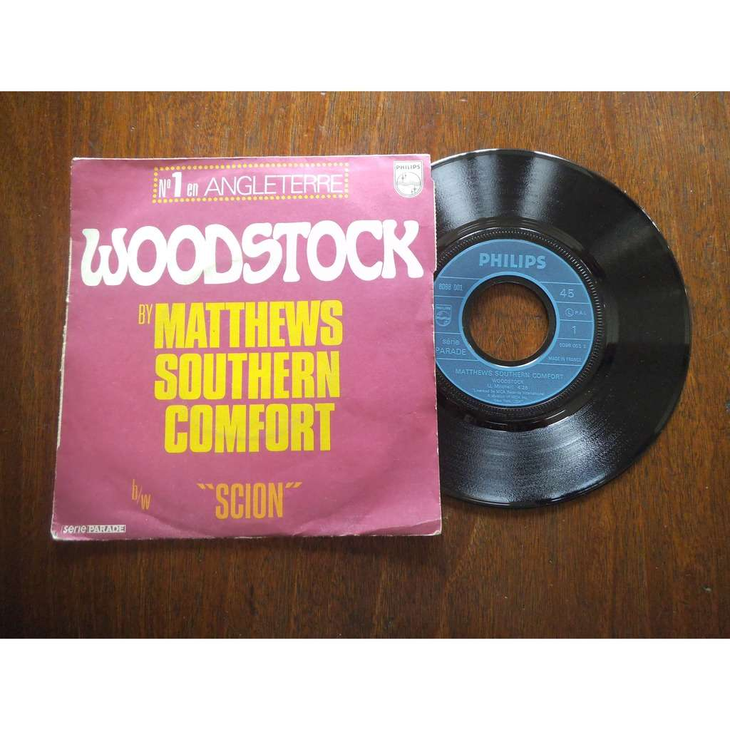 MATTHEWS SOUTHERN COMFORT WOODSTOCK / SCION