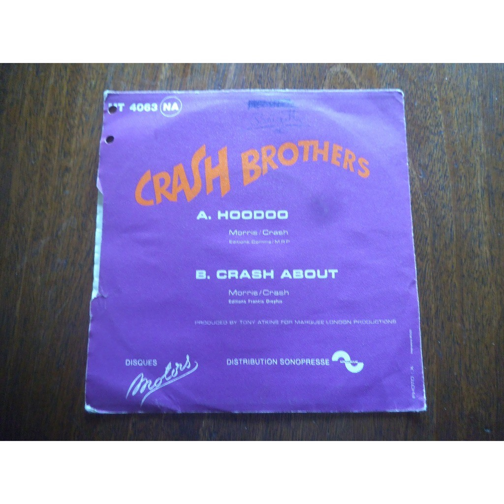 Hoodoo / crash about by Crash Brothers, SP with valou02