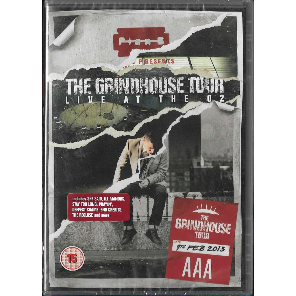 Plan B the Grindhouse Tour Live at the O2