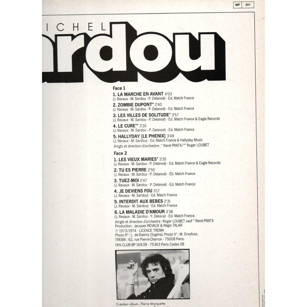 SARDOU MICHEL 1973-1974 :( 11 tracks )