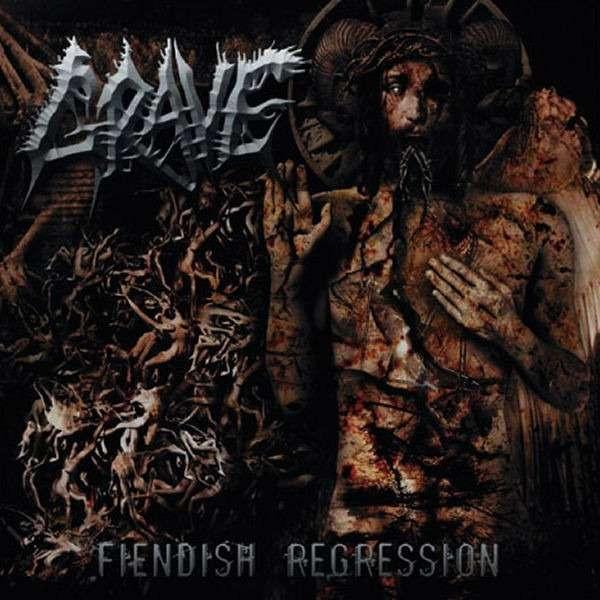 GRAVE Fiendish Regression. Black Vinyl