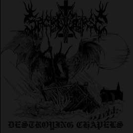 SACROCURSE Destroying Chapels. Grey Vinyl