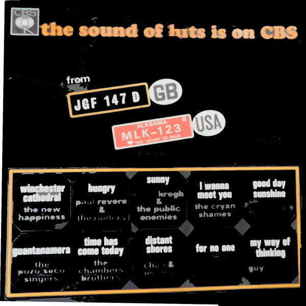 The new happiness, The tremeloes, chad & jeremy, e The sound of hits is on cbs
