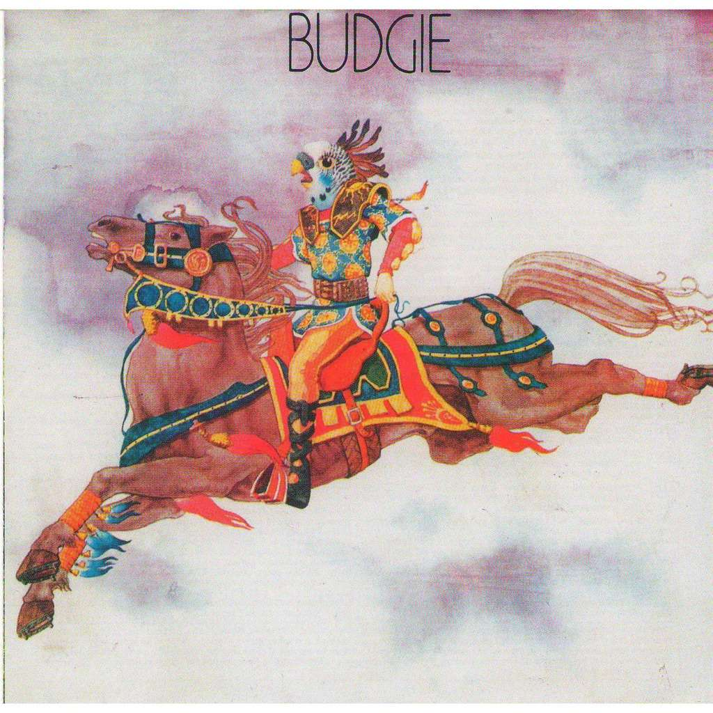 BUDGIE - BUDGIE (1971) BUDGIE (S/T, Self-Titled)