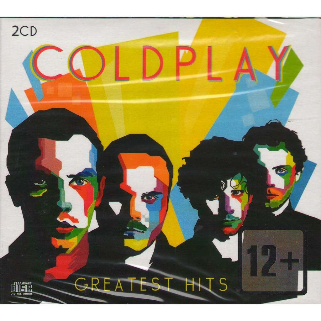 COLDPLAY GREATEST HITS 2 CD Digipak (2016 Edition, Includes Tracks from A Head Full Of Dreams)
