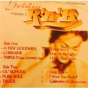 Truce and 05 Various Artists Golden R'n'b Volume 2 (Tonite (Rmx) + 05 Tracks )- Limited Edition, Promo, White Label