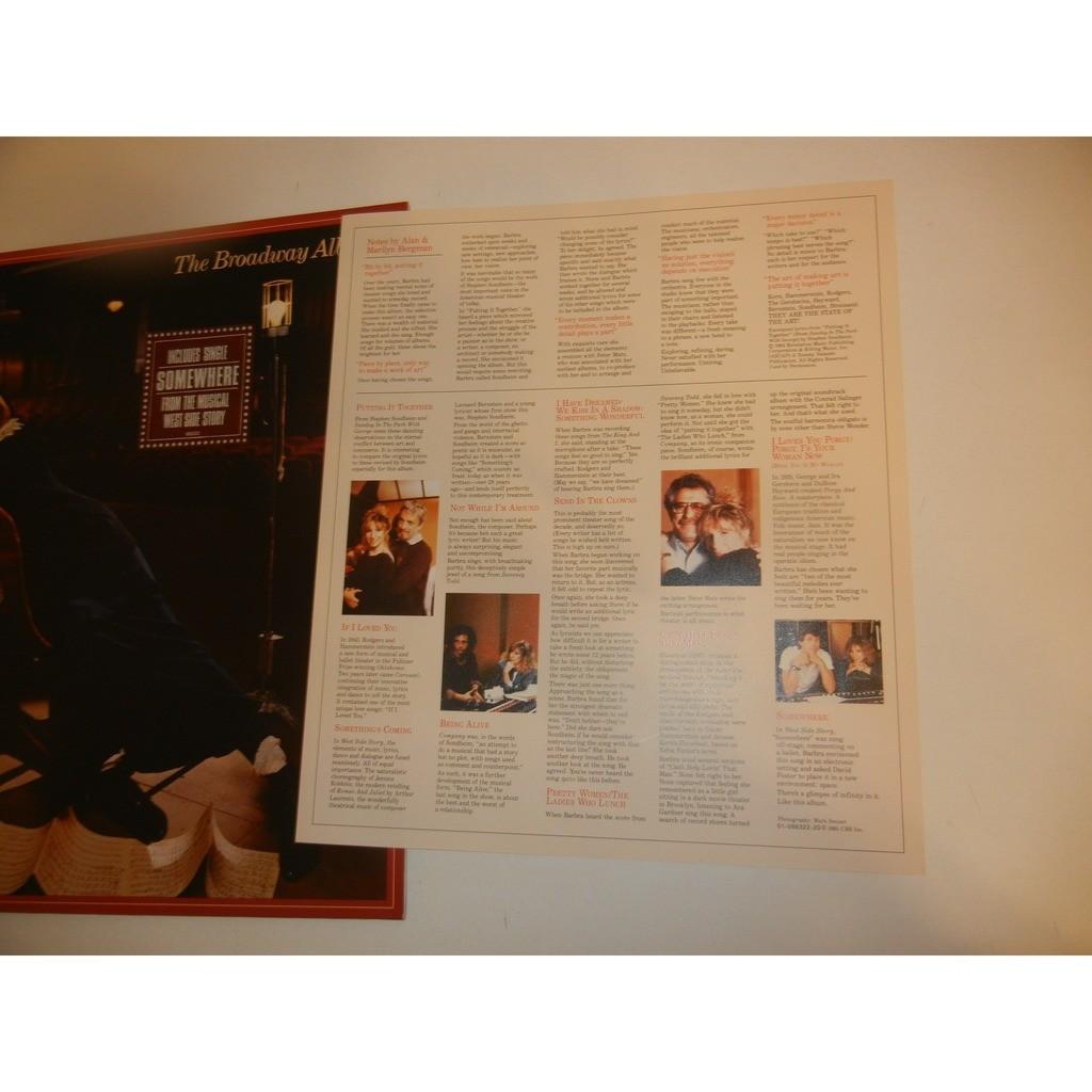 barbara streisand the broadway album