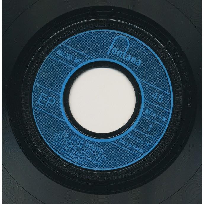 LES YPER SOUND ( PIERRE HENRY - MICHEL COLOMBIER ) too fortiche - treen tonic - psyche rock - jericho jerk