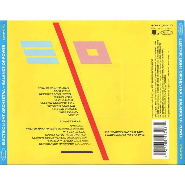 Electric Light Orchestra Balance Of Power (+7 bonuses)