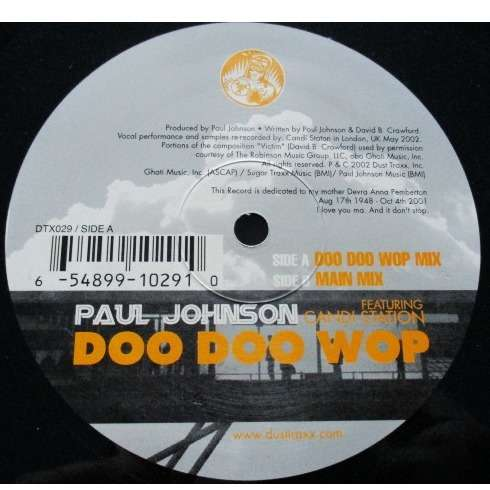 Paul Johnson Featuring Candi Station* Doo Doo Wop