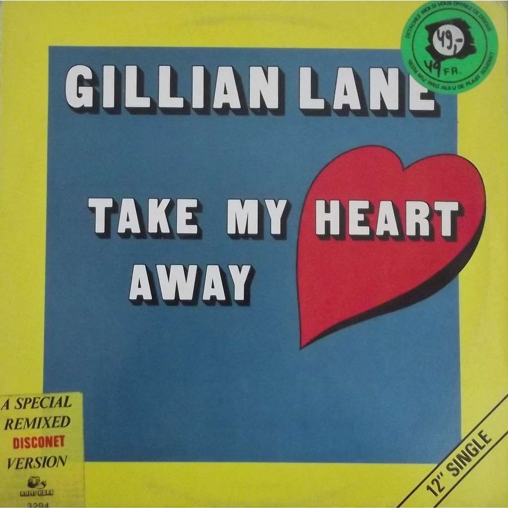 Gillian lane take my heart away (monoface)