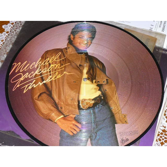 michael jackson thriller (picture disc)