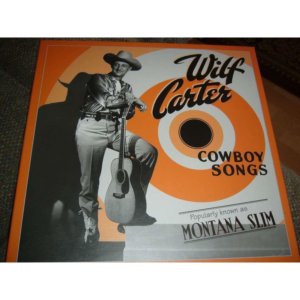 wilf carter cowboy songs coffret de 4 cds double'LE PRIX DE LA POSTE VA ÊTRE AJUSTER CELON LE PAYS ENVOYER ''