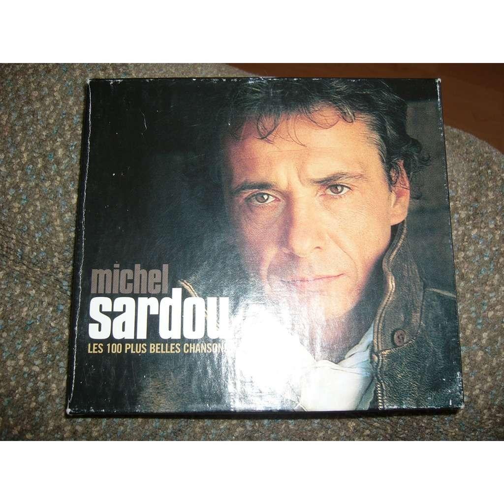 michel sardou les 100 plus belles chansons pressage canadien ''''ATTENTION LE PRIX DE LA POSTE PEUX VARRIER''