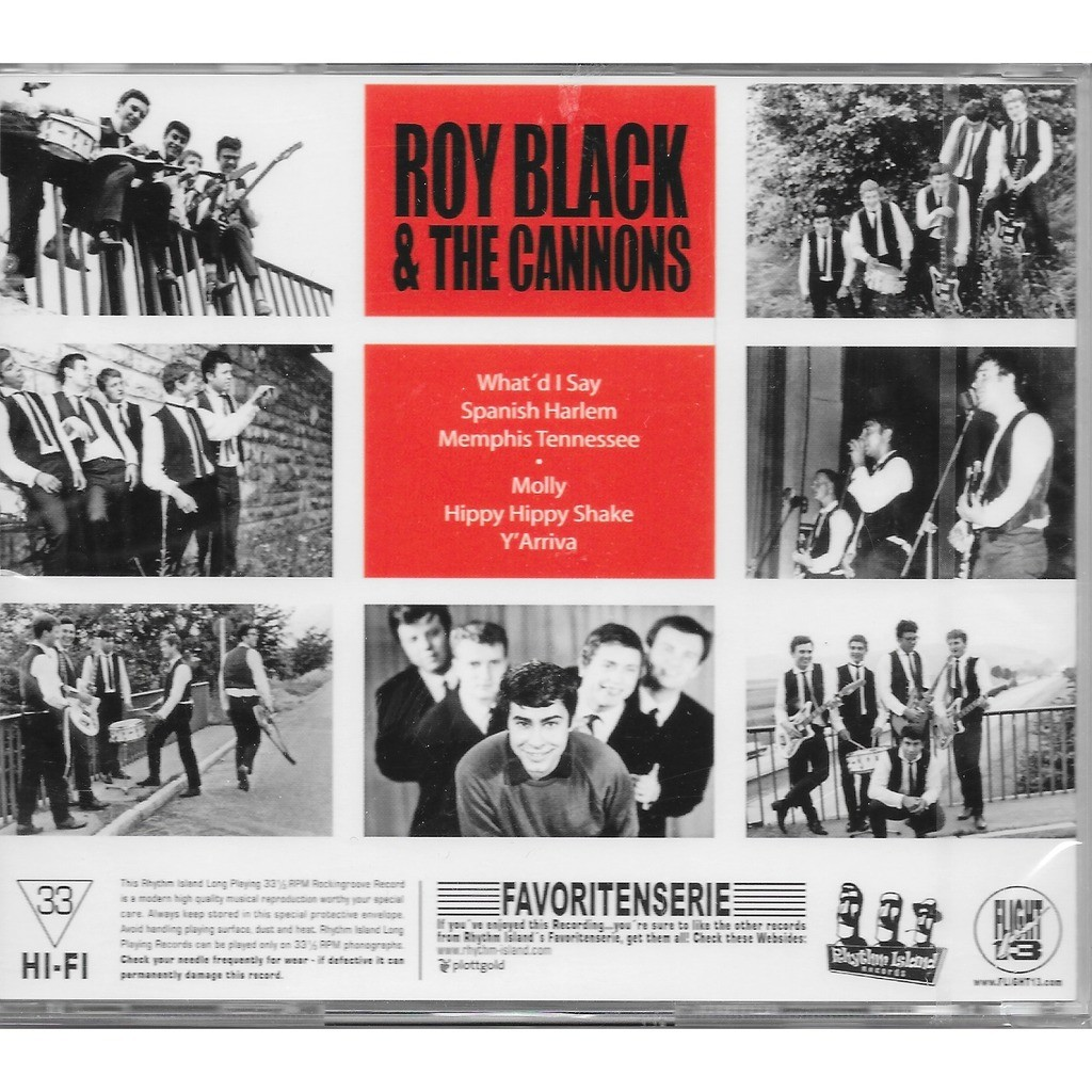 roy black & the cannons the last rock'n'roll show
