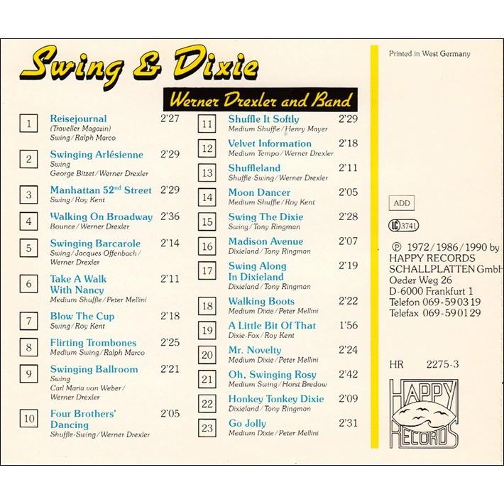 Various Swing & Dixie