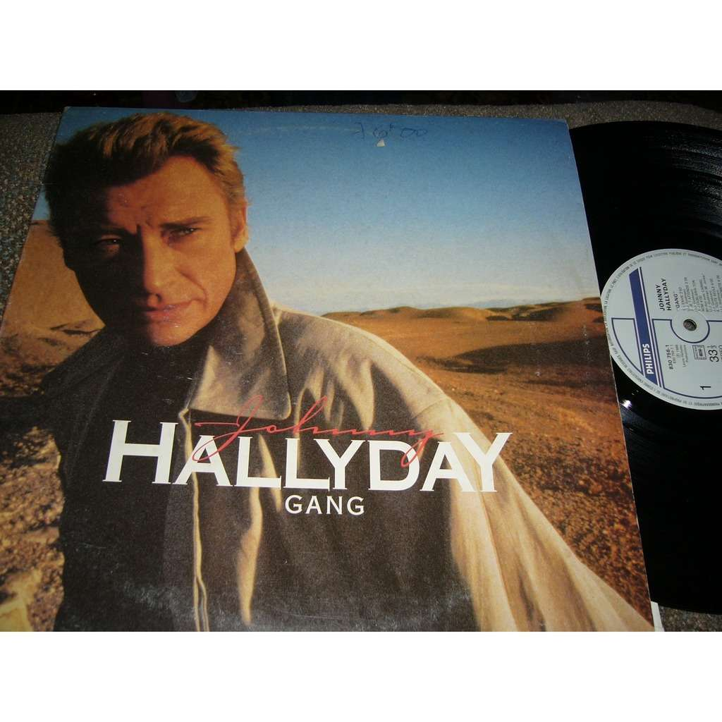 johnny hallyday johnny hallyday gang pressage france