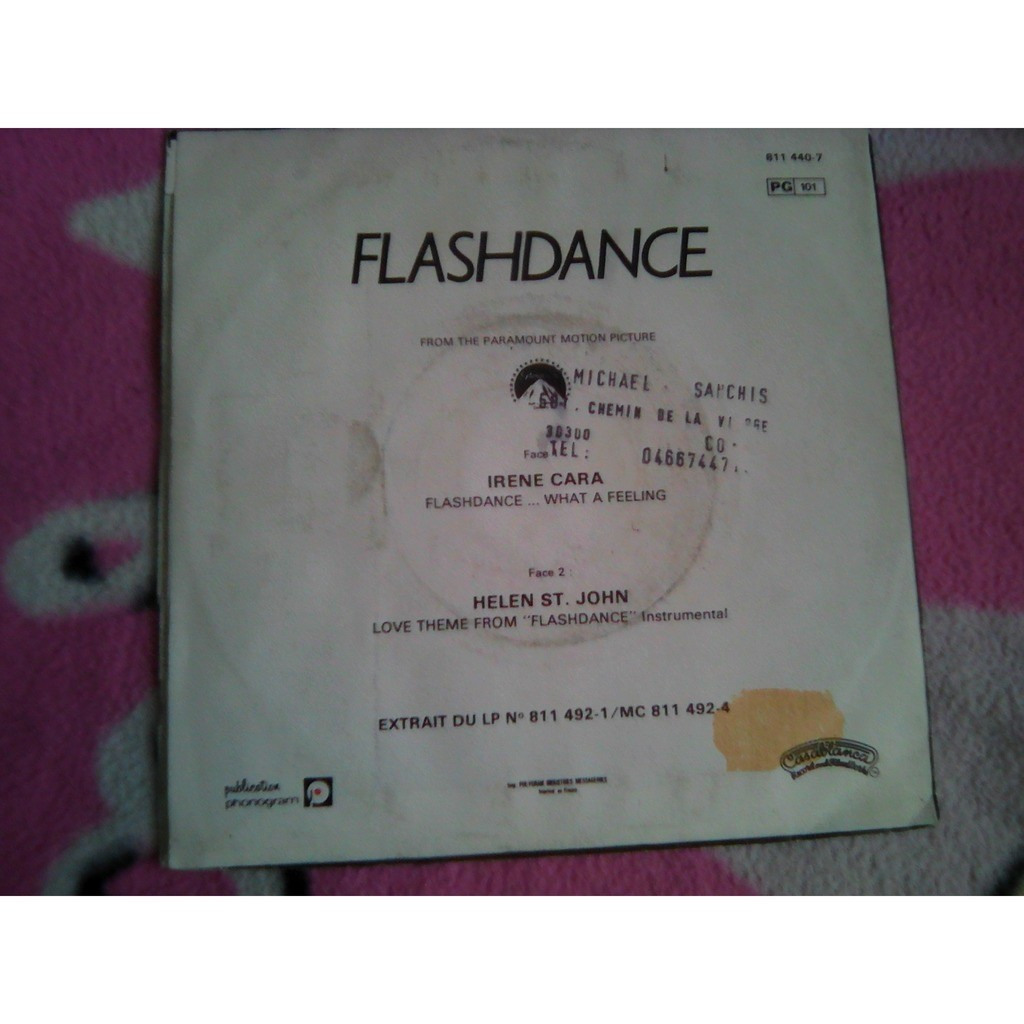 Irene Cara – Flashdance... What A Feeling Irene Cara – Flashdance... What A Feeling