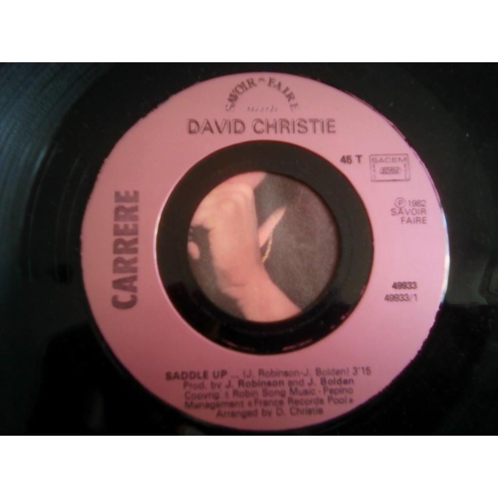 David Christie - Saddle Up David Christie - Saddle Up