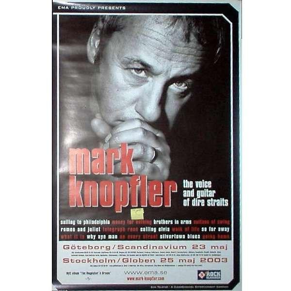 Dire Straits / Mark Knopfler Swedish Tour 2003 (Goteburg Scandinavium 23.05.2003 & Stockholm Globen 25.05.2003)