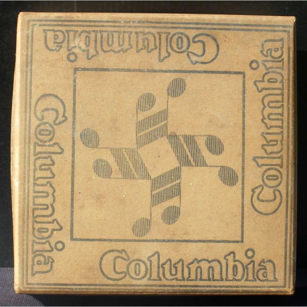 Rare boîte pour 78 trs 25 cm Columbia Avec date 16 JAN 1933 EX