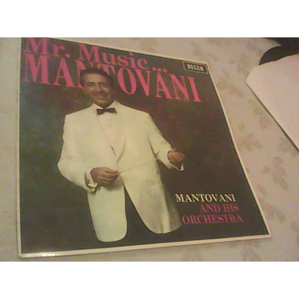 mantovani Mr Music Mantovani and his orchestra