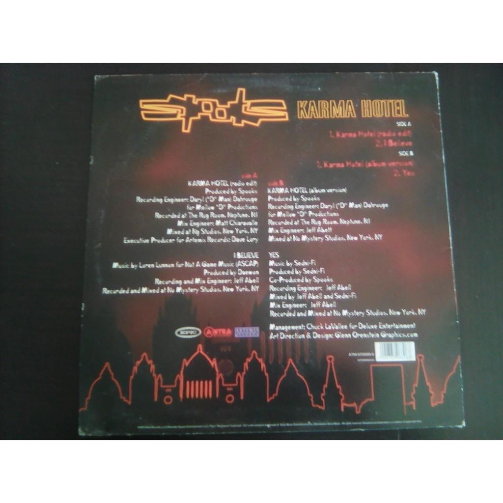 Spooks Karma Hotel (Radio Edit) Engineer [Remix]