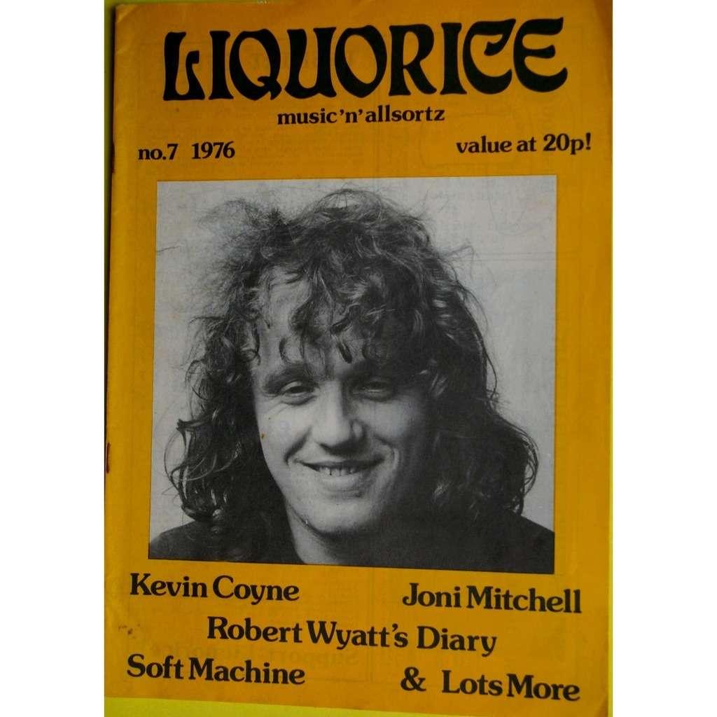 KEVIN COYNE, ROBERT WYATT, SOFT MACHINE... LIQUORICE N°7