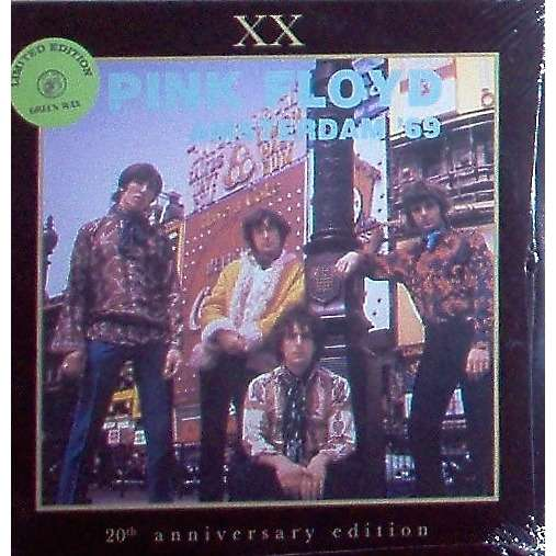 Pink Floyd Amsterdam '69 (Concertgebow NL 17.09.1969) (Ltd 100 copies 2LP GREEN wax - sealed+stickered copy!!)