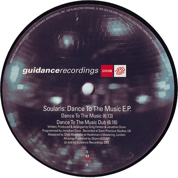 Soularis Dance To The Music EP