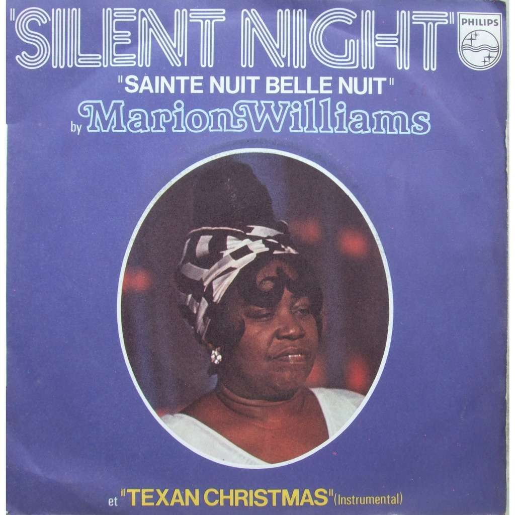 Marion Williams Silent night