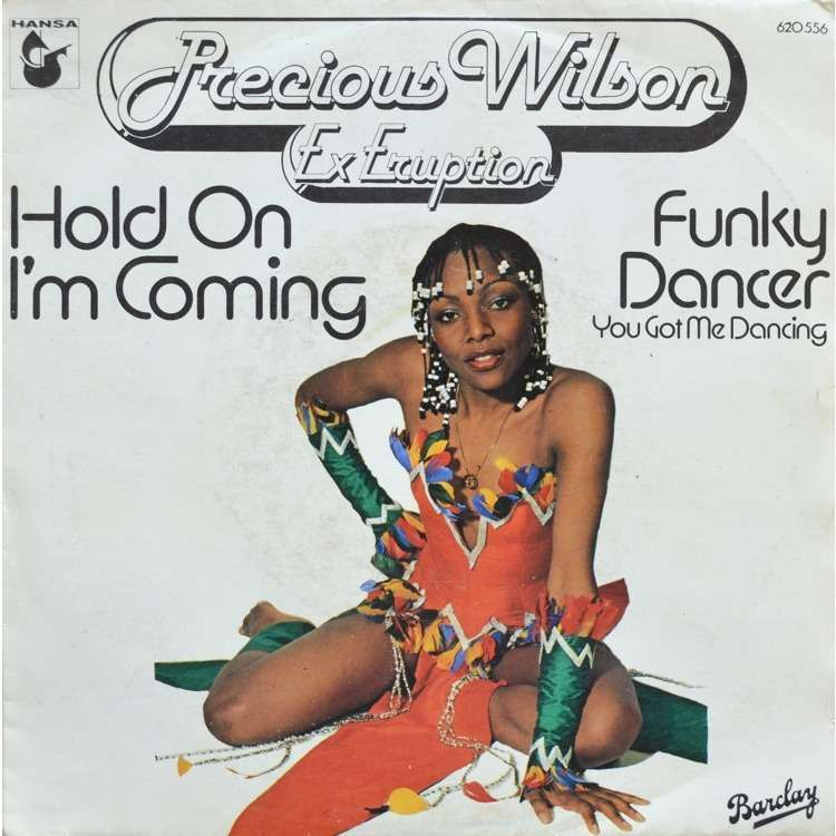 precious wilson hold on i'm coming - funky dancer