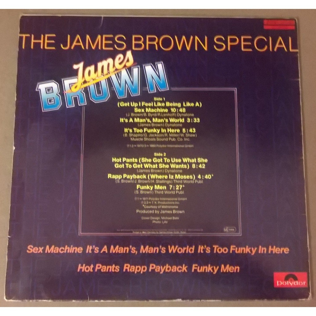James Brown The James Brown Special