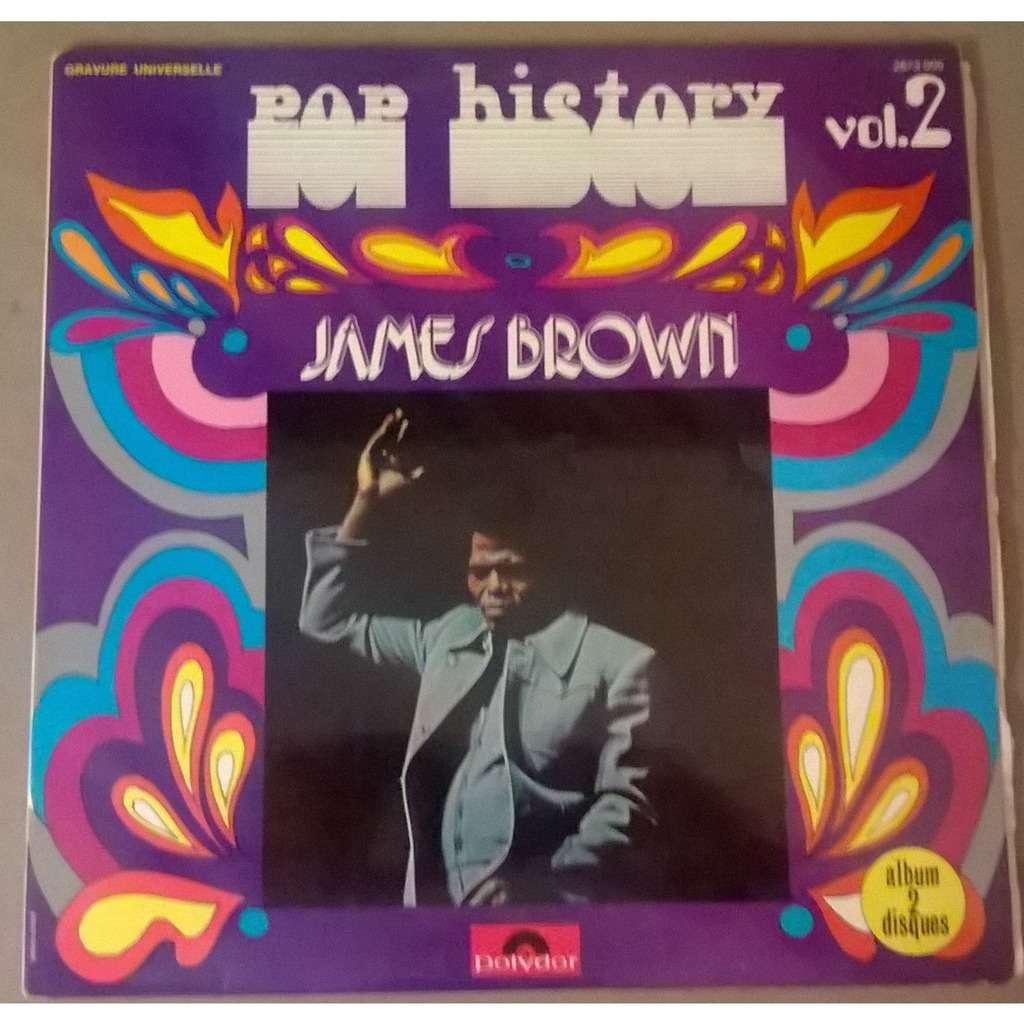 James Brown Pop History Vol. 2