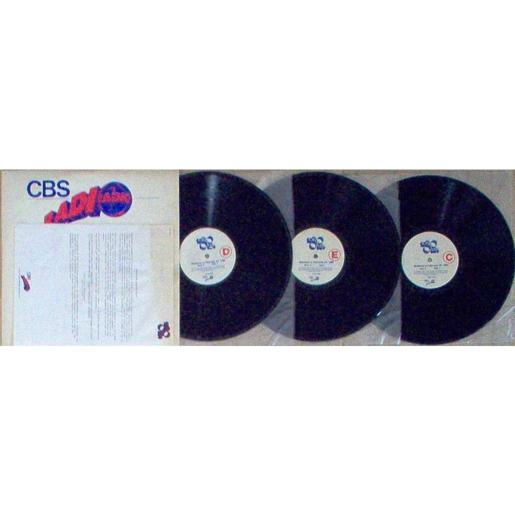 Bruce Springsteen Top 30 USA Show #138/86 (USA 1986 promo 'cbs' BROWN wax 3lp radio show+cues)