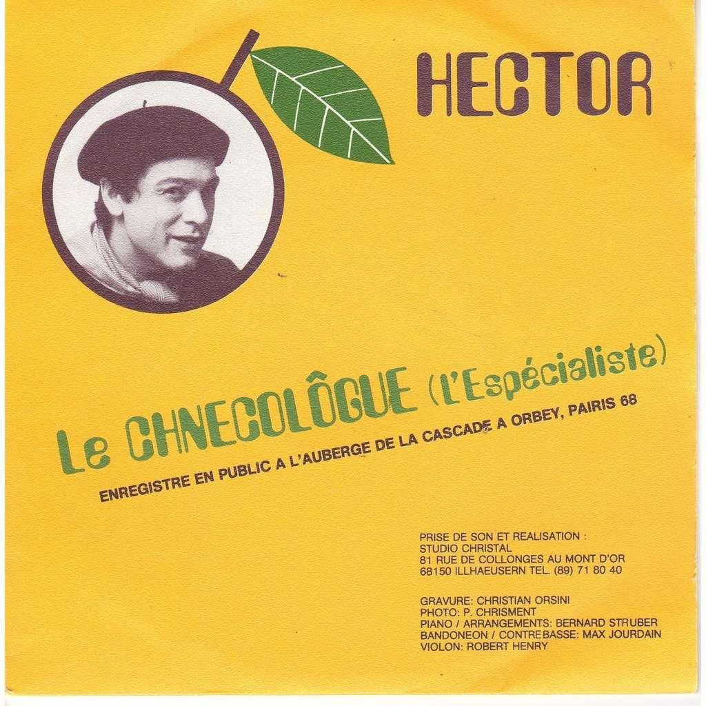hector mirabelle tango - le chnecolôgue ( avec carte postale )