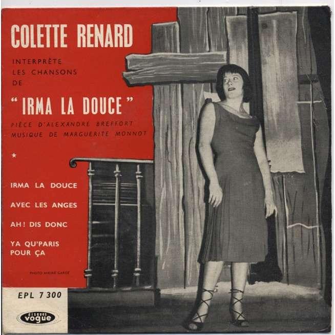 COLETTE RENARD interprète les chansons de Irma La Douce ( EP )