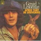 Gérard Lenorman Après tant de souvenirs / Le magicien