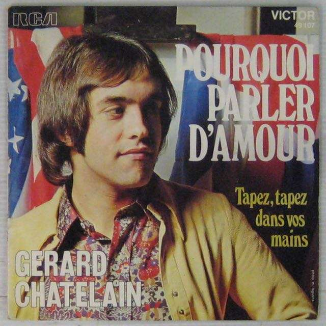 Chatelain Gérard Pourquoi parler d'amour