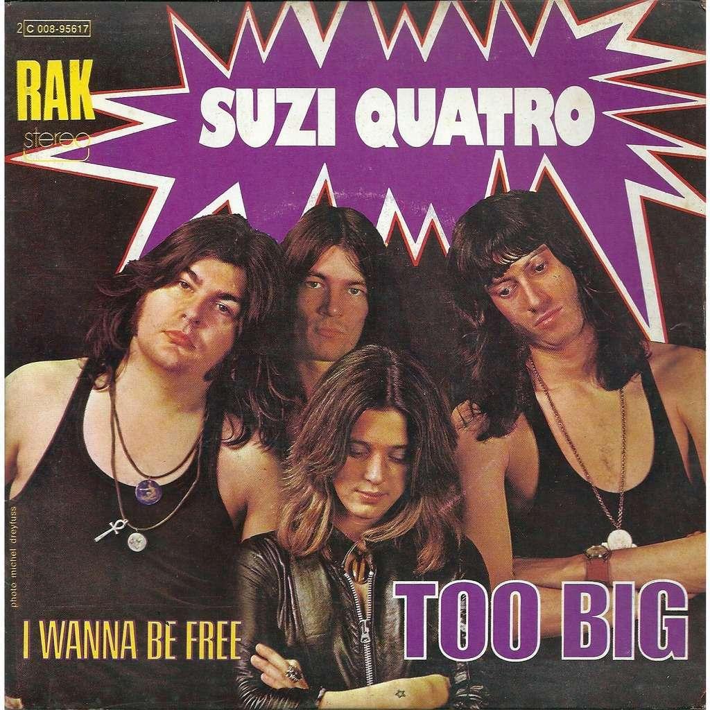 Suzi Quatro Too big