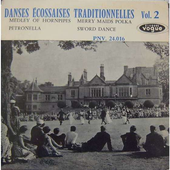 Adam Rennie & his Scottish Dance Band danses traditionnelles écossaises vol.2 (4 tracks)