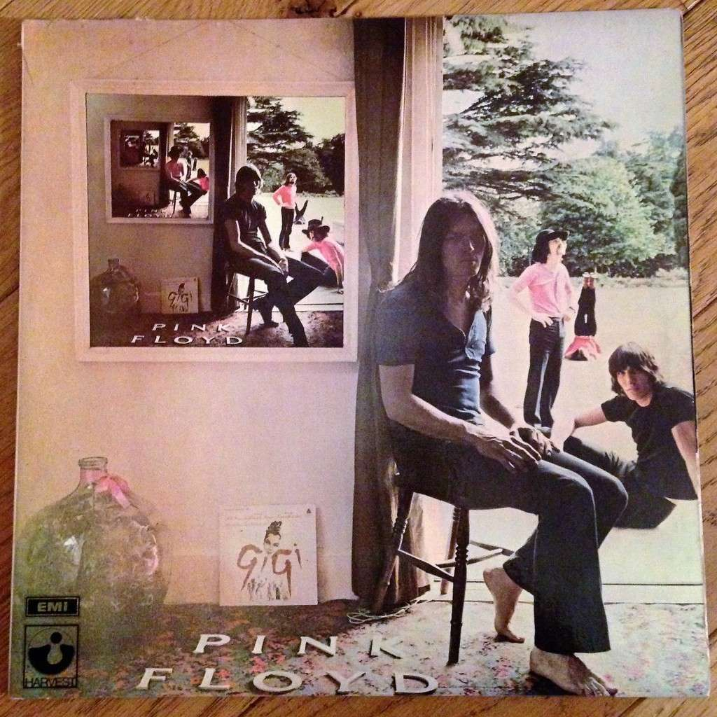 Ummagumma By Pink Floyd Double Lp Gatefold With