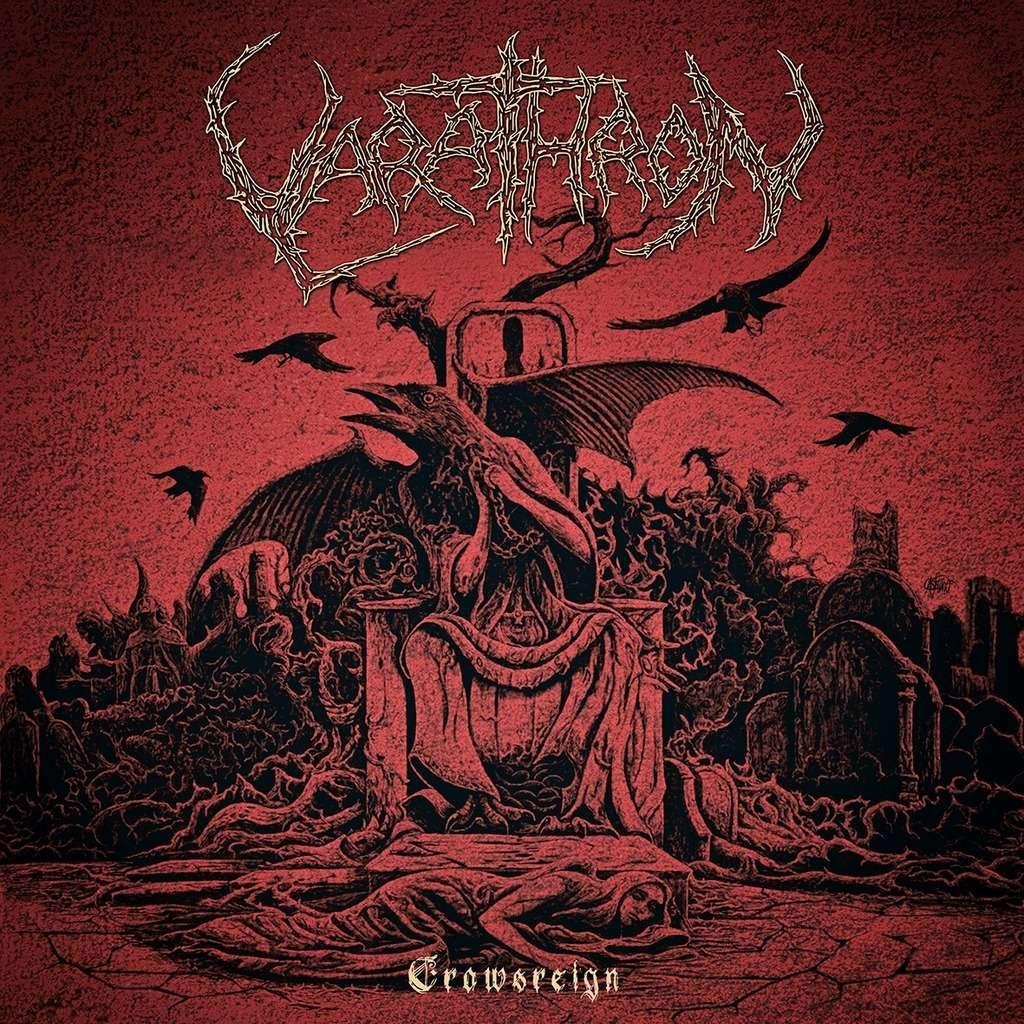 VARATHRON Crowsreign. Oxblood Vinyl