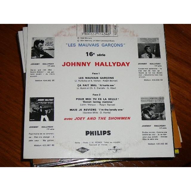 JOHNNY HALLYDAY LES MAUVAIS GARCONS
