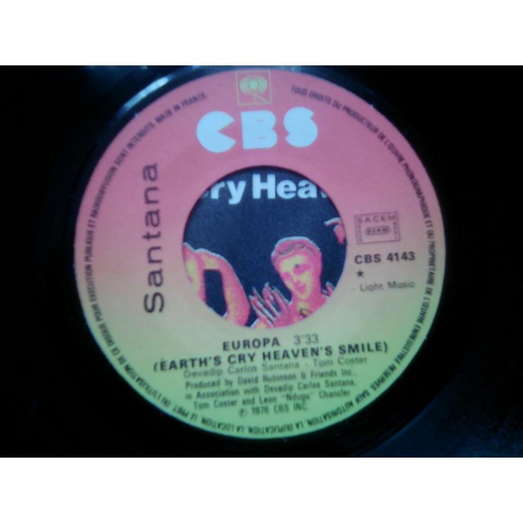 Santana - Europa (Earth's Cry Heaven's Smile) Santana - Europa (Earth's Cry Heaven's Smile)