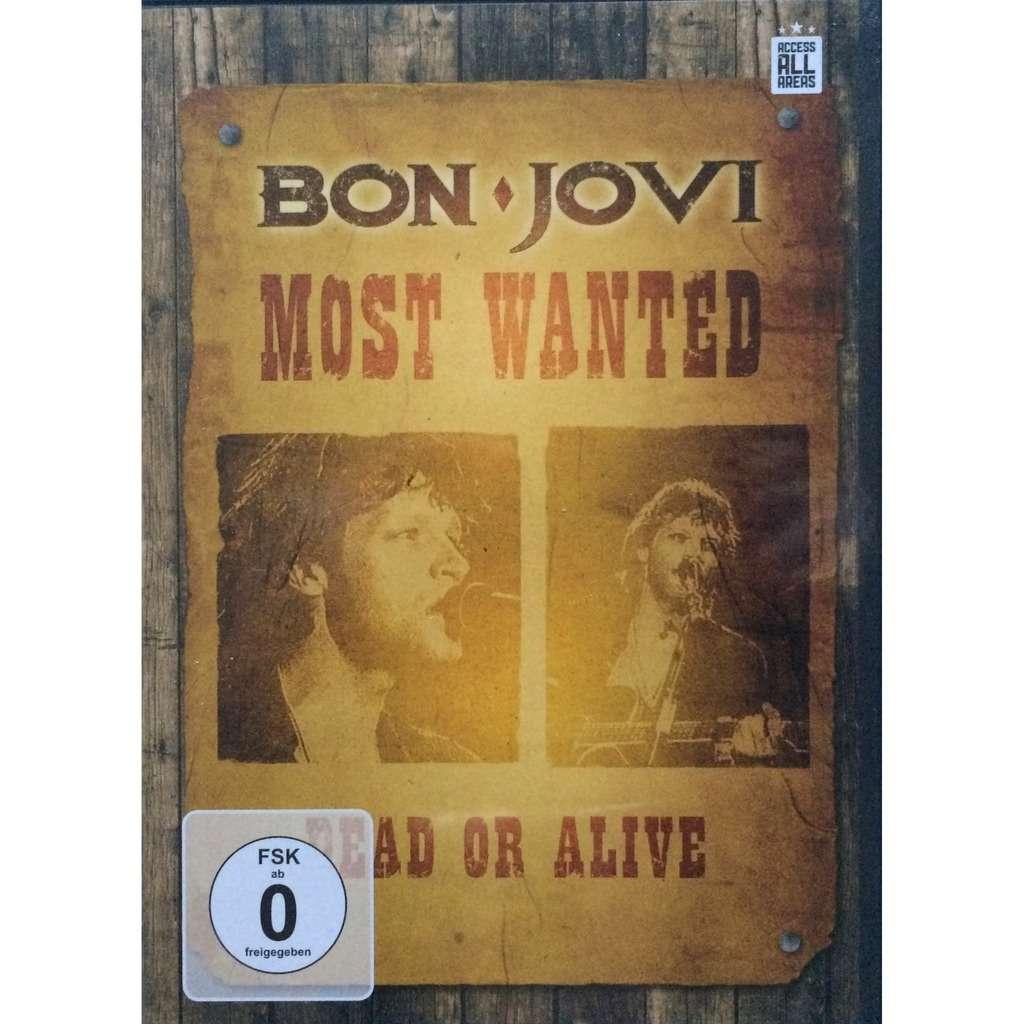 BON JOVI - MOST WANTED (EURO PRESSING 1 DVD)